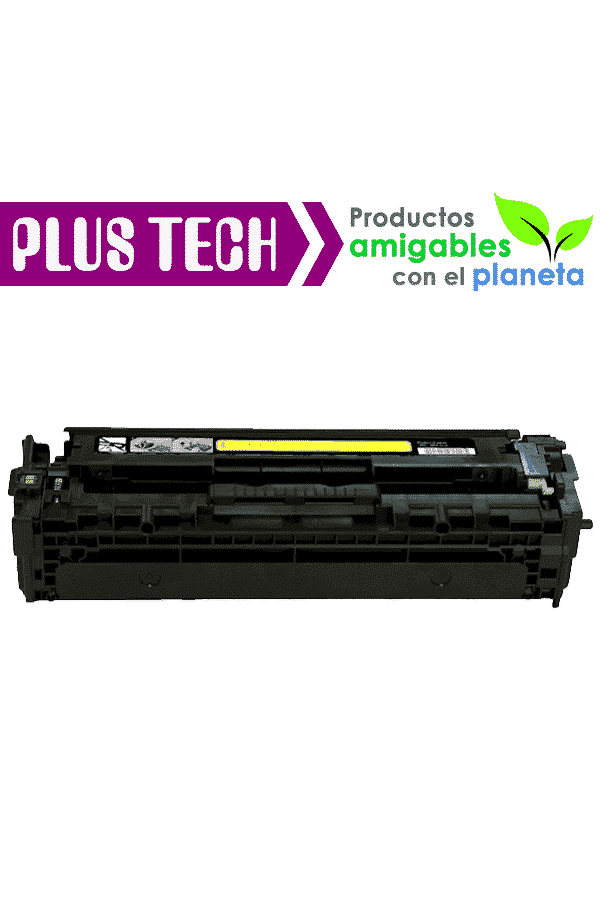 125A Yellow Toner para impresora HP Color LaserJet CP1518 CB542A