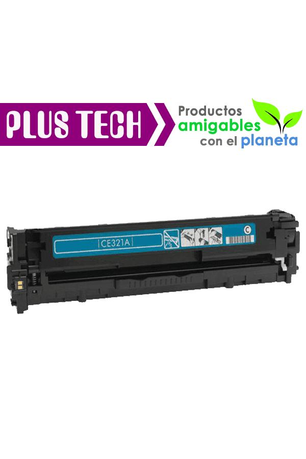 128A Cyan Toner para impresora HP Color LaserJet CP1525 CE321A
