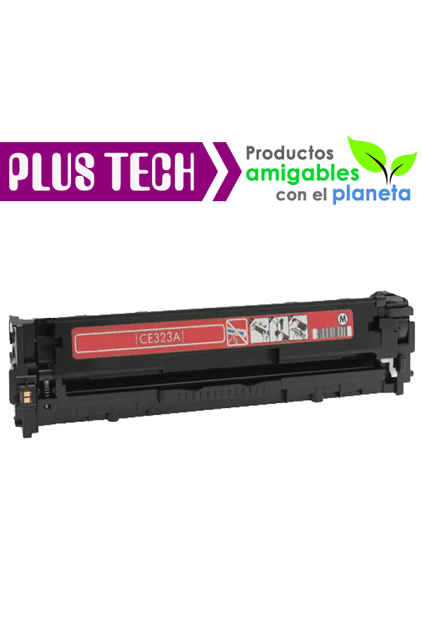128A Magenta Toner para impresora HP Color LaserJet CP1525 CE323A