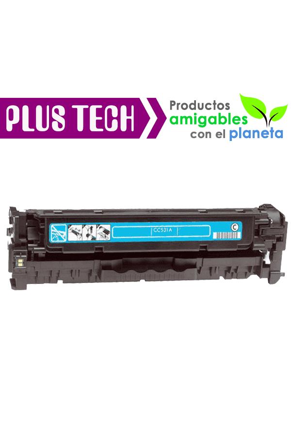 CC531A 304A Cyan Toner para impresora HP Color LaserJet CP2025 CC531A