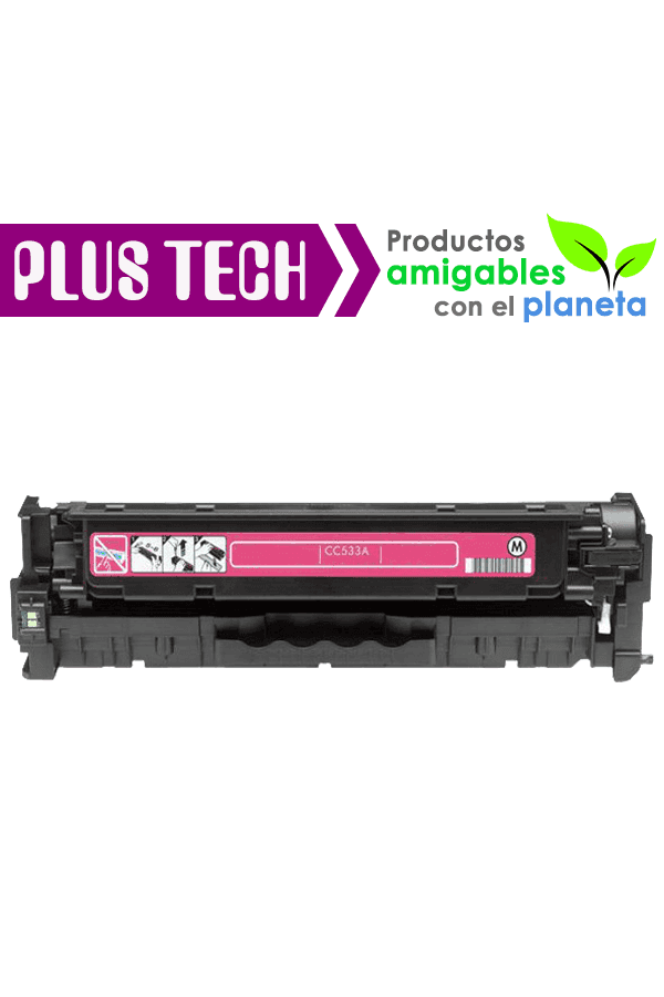 304A Magenta Toner para impresora HP Color LaserJet CP2025 CC533A