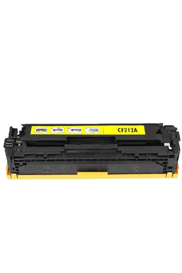 131A Yellow Toner de impresora HP LaserJet Pro 200 Color CF212A venta toner hp 131a amarillo guatemala