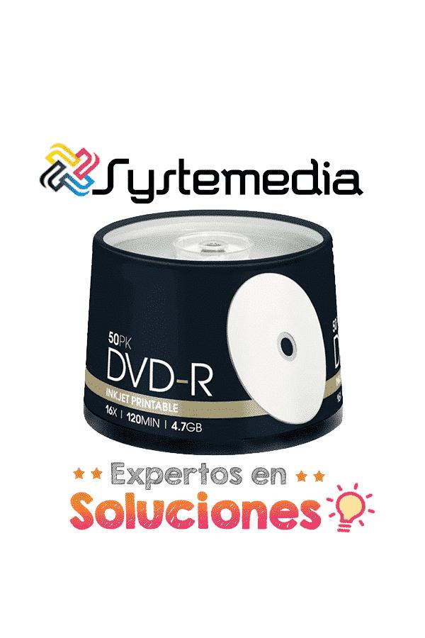 DVD-R Imprimible 50 unidades