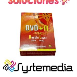 DVD+R Pengo 8.5gb en guatemala
