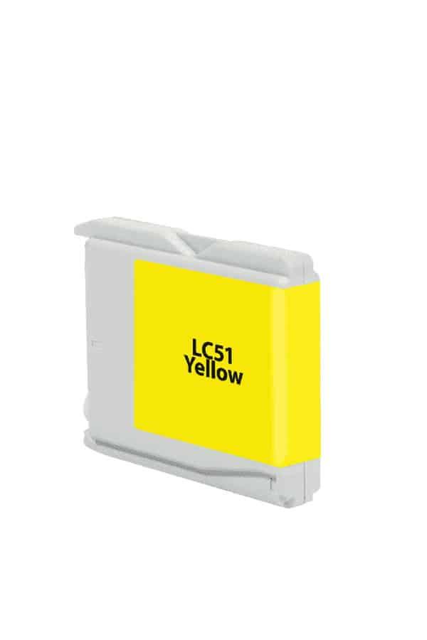 LC51Y Tinta Brother LC-51 color amarillo