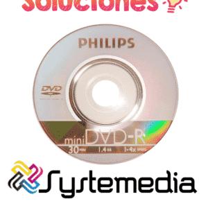 Mini DVD Marca PhilipsMini DVD Marca Philips