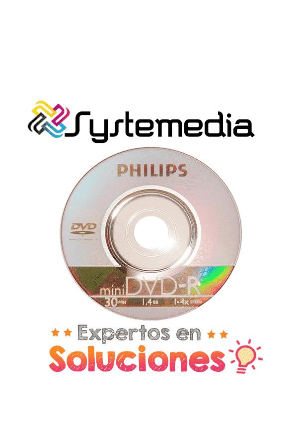 Mini DVD Philips 10 unidades