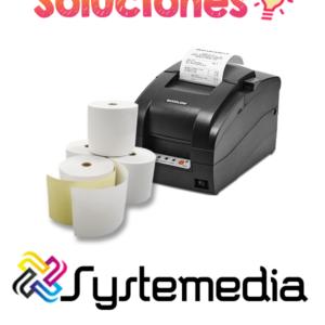 venta rollo sensitivo 56mm en guatemala rollo de papel autocopia 56mm