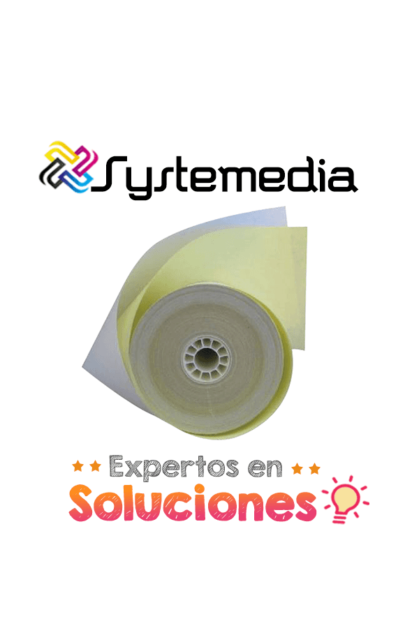76 mm Rollo Sensitivo 1 copia 3 X 2.75 90 pies