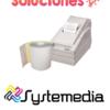 venta rollo sensitivo 76mm 2 copias en guatemala rollo de papel autocopia 75mm 2 copias