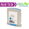 C9386A Tinta HP 88XL color cyan
