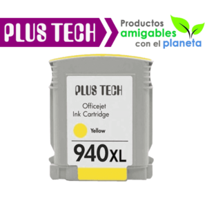 C4909A Tinta HP 940XL color Amarillo - Yellow
