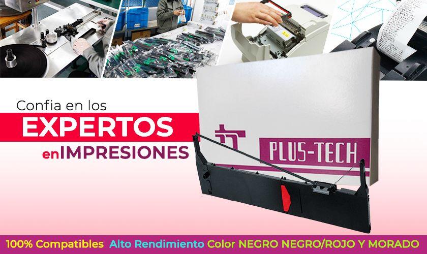 cinta plustech consumibles plustech en guatemala cinta original cinta para caja registradora cinta de impresora