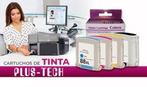 cartucho de tinta plustech en guatemala. alta calidad de impresion