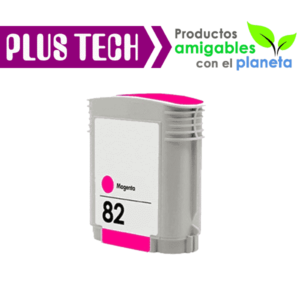 C4912A Tinta HP 82 Color Magenta – Rojo