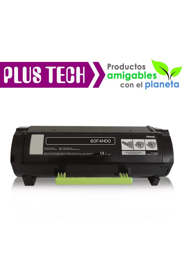 60F4H00 Toner para Impresora Lexmark MX610 MX310