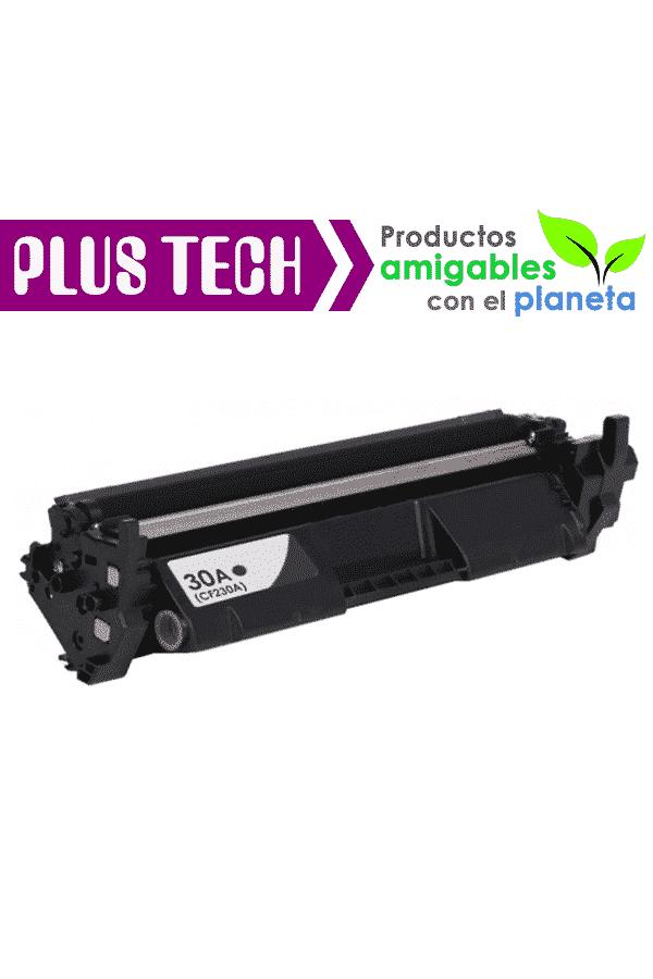 30A Toner Para Impresora HP LaserJet Pro M203 Modelo CF230A Lo mejor en toner PlusTech, Alta Calidad Plus Tech Consumibles Plus-Tech Cartuchos toner guatemala