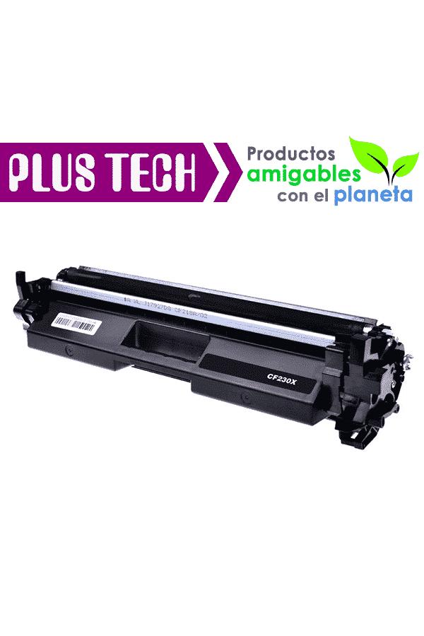 30x 30X Toner Para Impresora HP LaserJet Pro M227 M203 Modelo CF230X Lo mejor en toner PlusTech, Alta Calidad Plus Tech Consumibles Plus-Tech Cartuchos toner guatemala