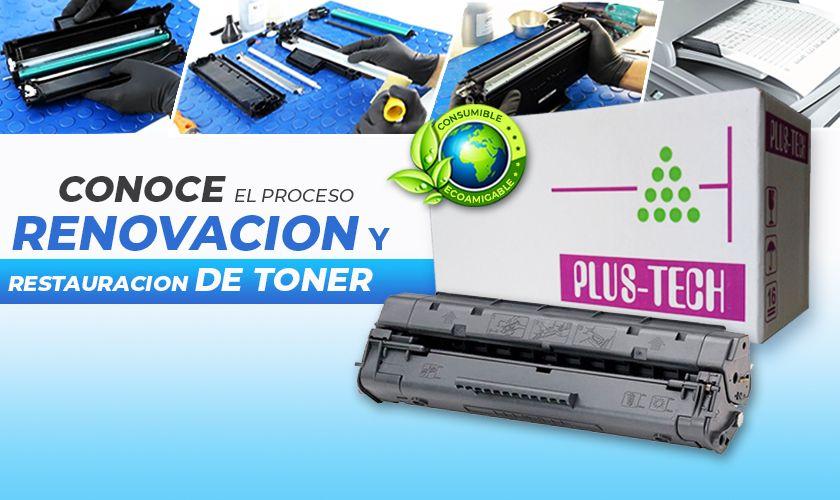 toner renovado plustech plus-tech Mayor ahorro a un toner original y mejor calidad que un toner rellenado toner generico toner compatible