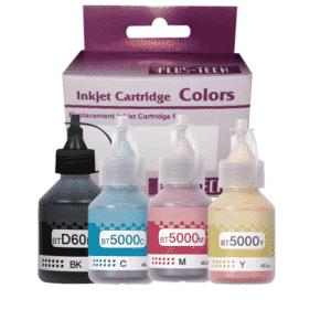 Botella de Tinta Brother para DCP-T Juego colores en guatemala