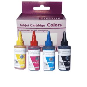 Tinta hp botella recargable juego colores