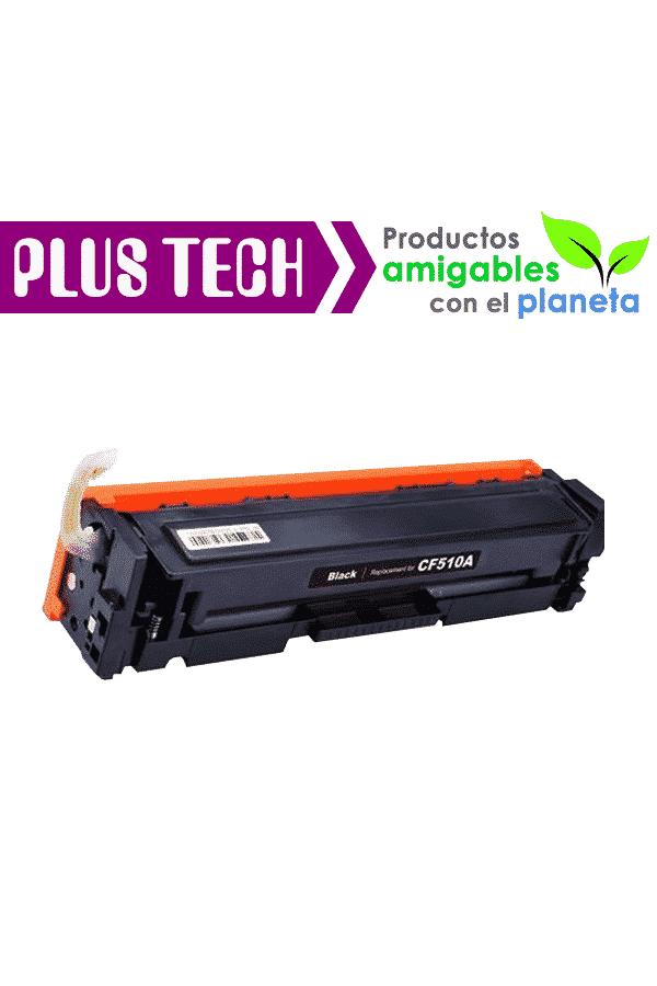 204A Black Toner de Impresora HP Color LaserJet M180 CF510A en guatemala