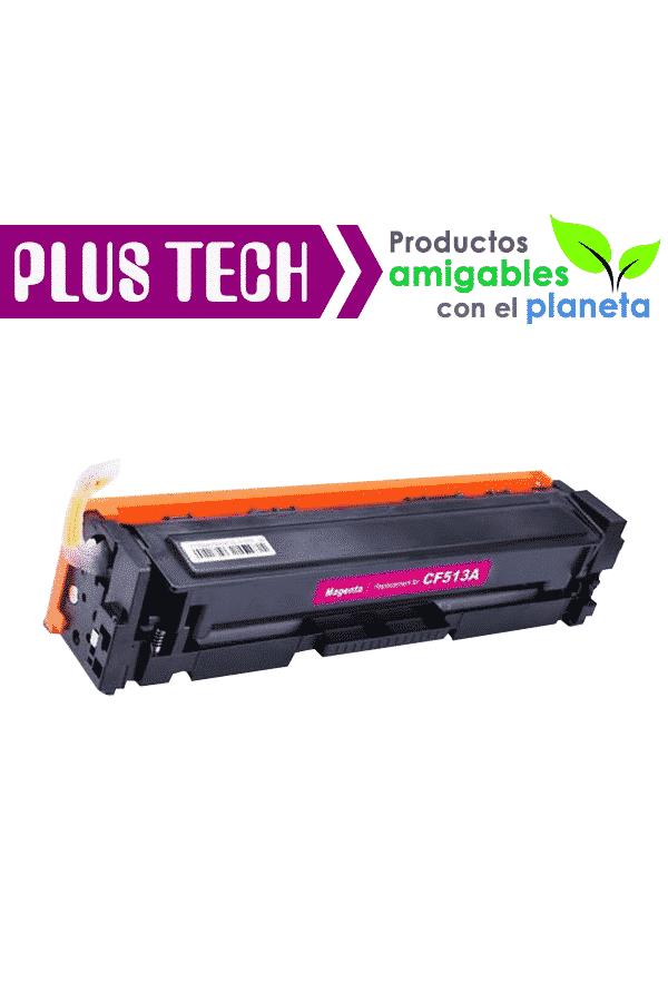 204A Magenta Toner de Impresora HP Color LaserJet M180 CF513A guatemala